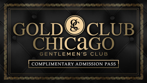 Gold Club Free Pass Print